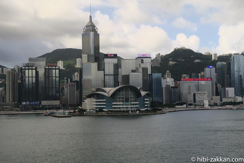 2019年6月香港旅行 ビクトリアハーバー02