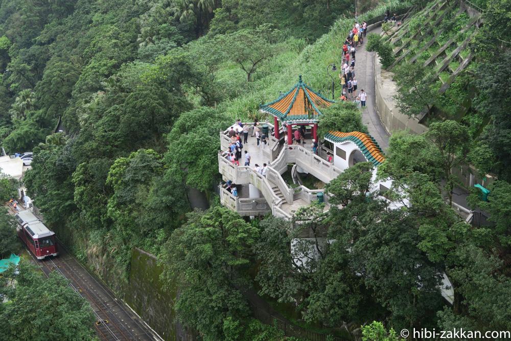 2019年6月香港旅行太平山獅子亭