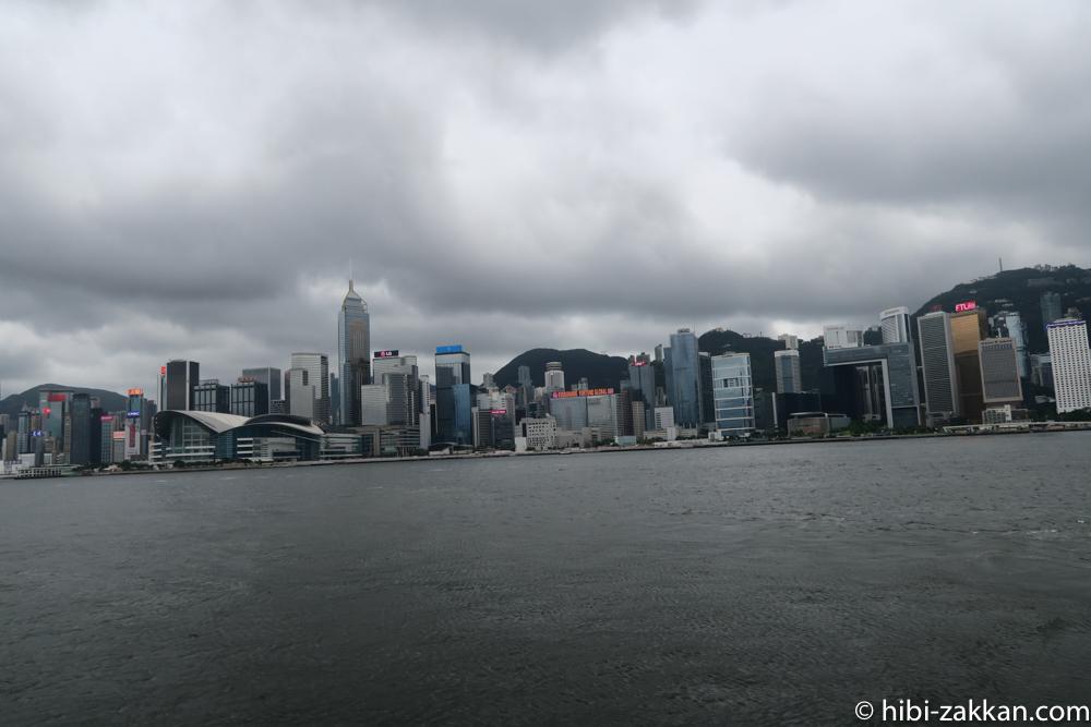 2019年6月香港旅行スターフェリーから風景02