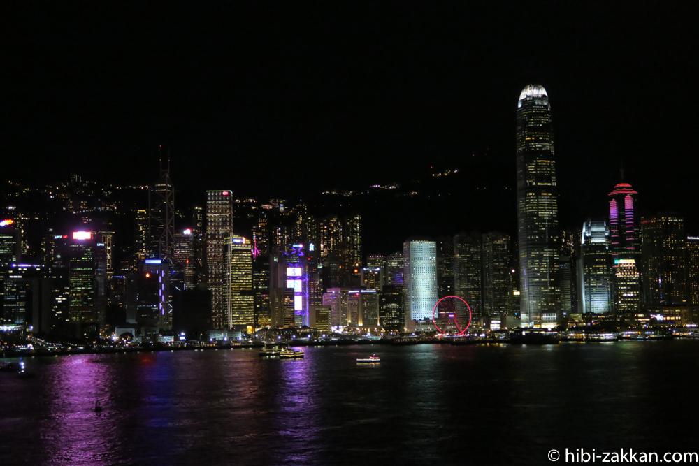 2019年6月香港旅行シンフォニー・オブ・ライツ02