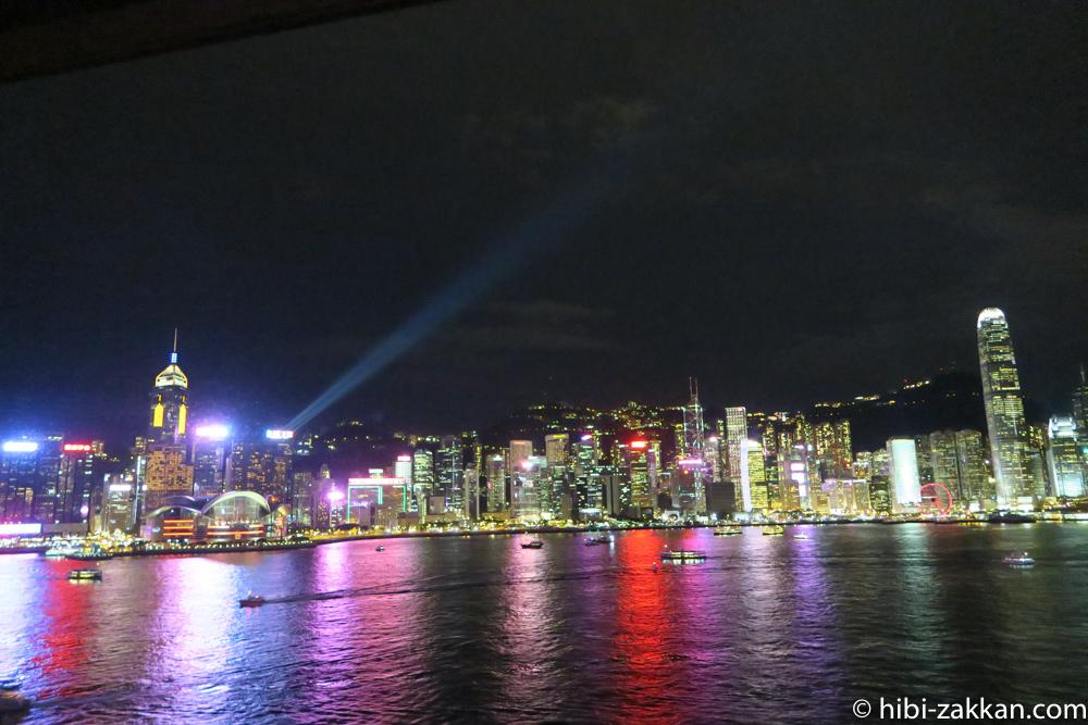 2019年6月香港旅行シンフォニー・オブ・ライツ04