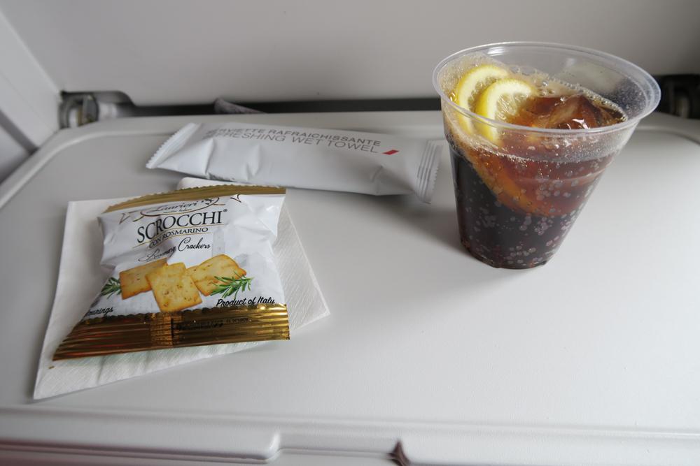 離陸後配られる飲み物