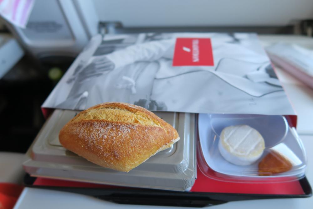 エールフランス機内食 アラカルトミール トラディション・メニュー01