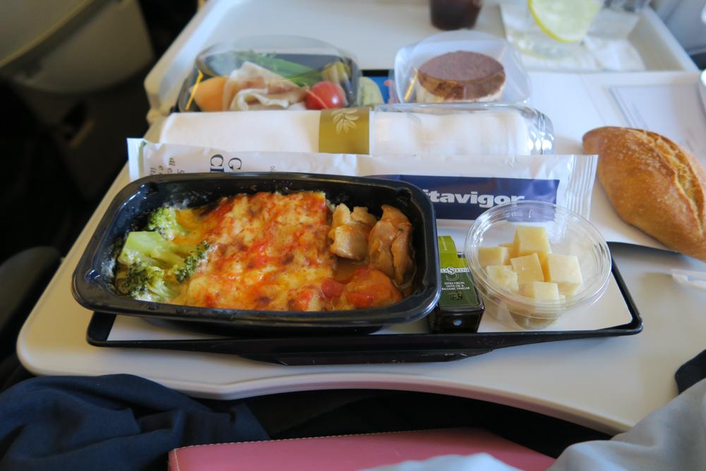 エールフランス機内食 アラカルトミール イタリアン・メニュー02