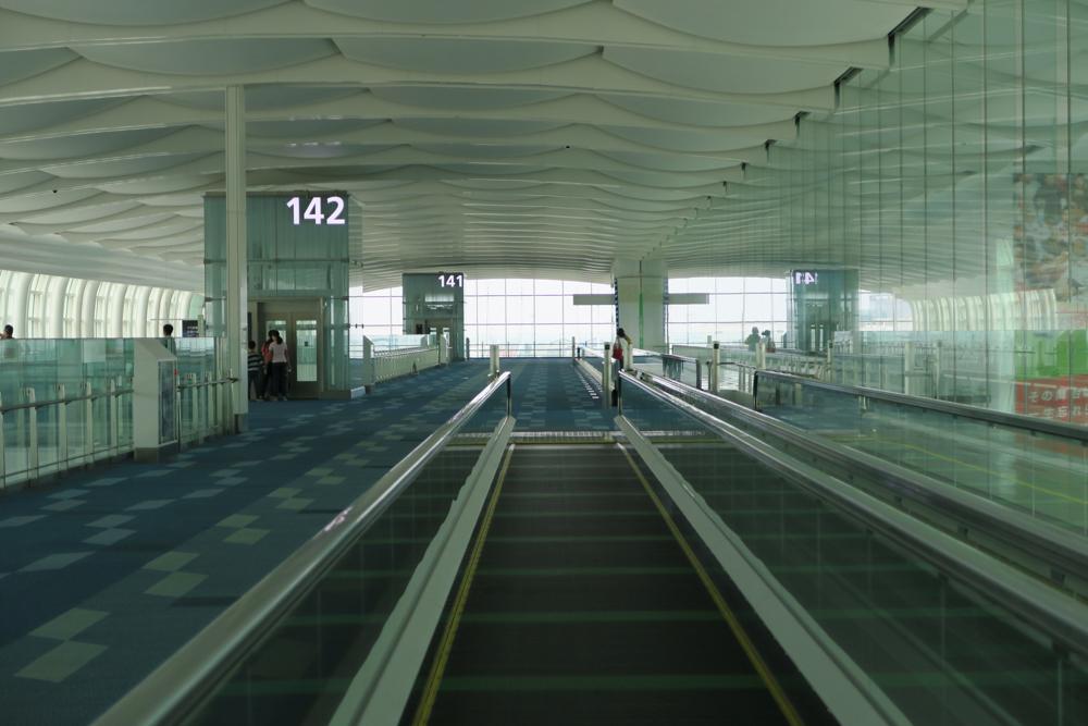 羽田空港国際線142番ゲート