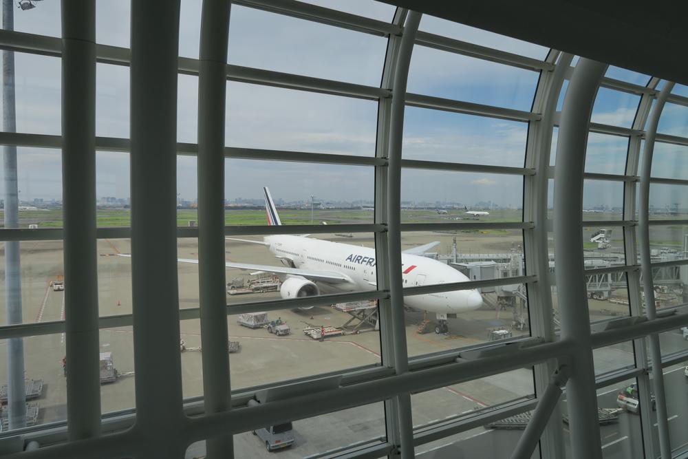 エールフランス飛行機01