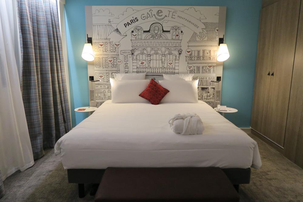 メルキュール パリ ガル モンパルナス(Mercure Paris Gare Montparnasse)ベッド