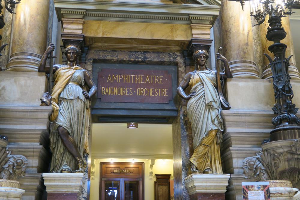 オペラ座ガルニエ宮 入口