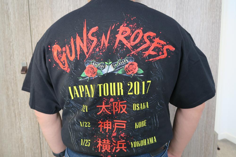 ガンズ・アンド・ローゼズのTシャツ02