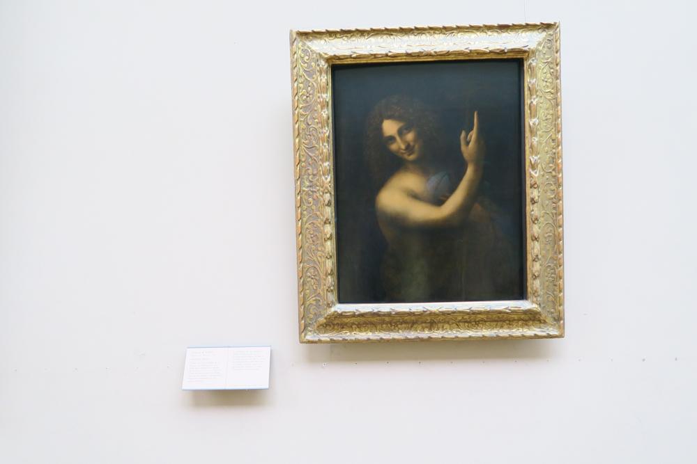ルーブル美術館 レオナルド・ダ・ヴィンチ「洗礼者ヨハネ」