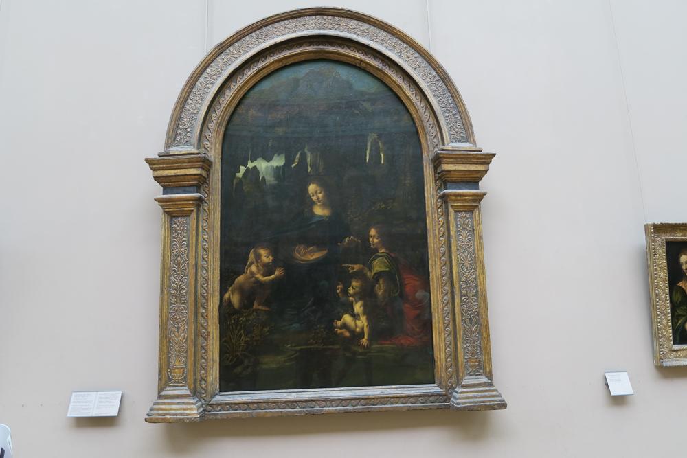 ルーブル美術館 レオナルド・ダ・ヴィンチ「聖アンナと聖母子」