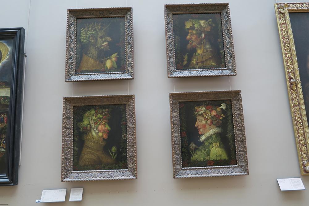 ルーブル美術館 アルチンボルド 四季