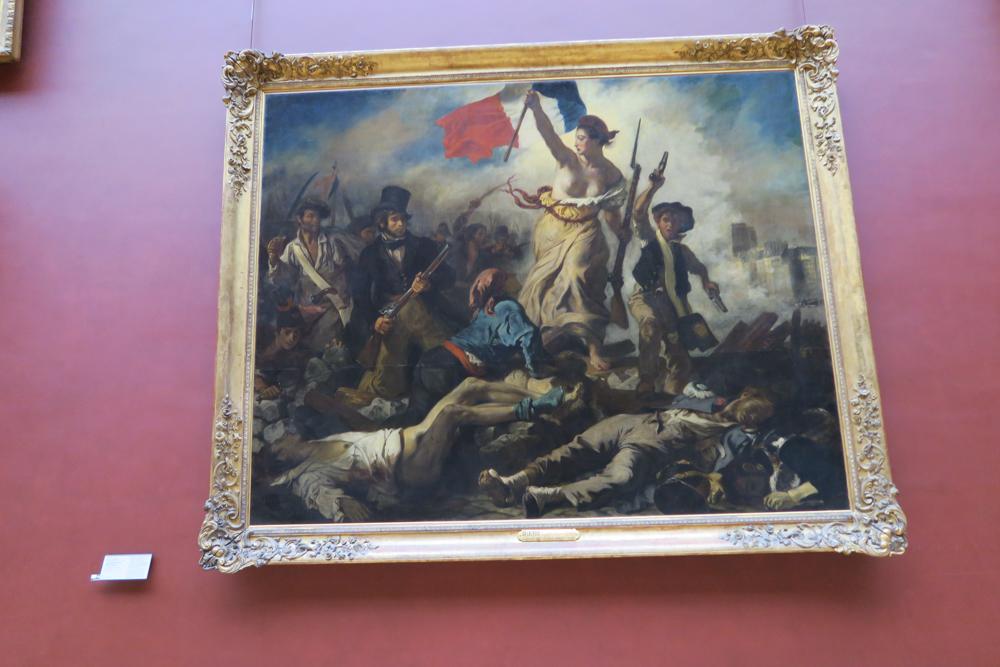 ルーブル美術館 ドラクロワ 民衆を導く自由の女神