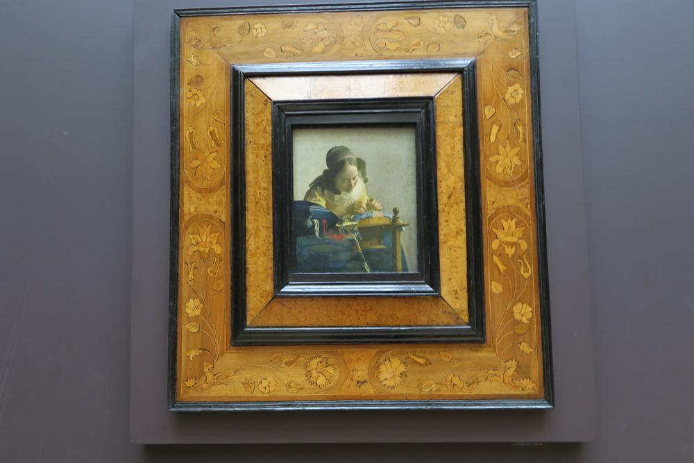 ルーブル美術館 フェルメール レースを編む女