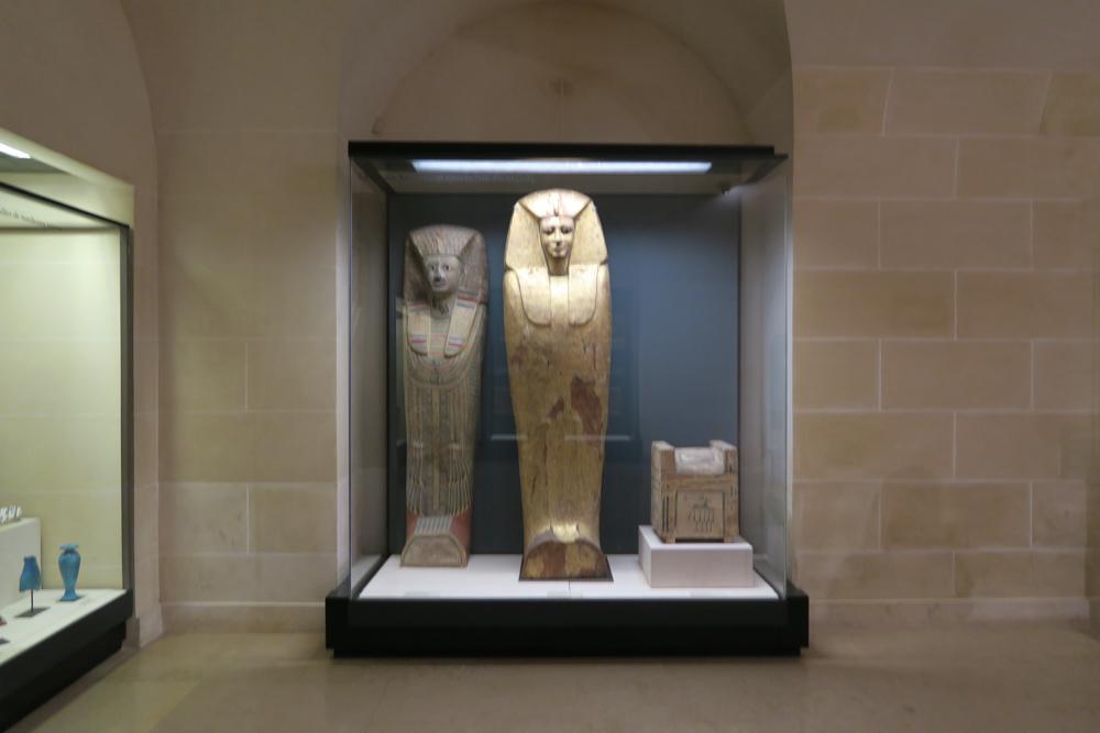 ルーブル美術館 アンテフ王・セケムラー =ヘルウヘルマアトの棺の蓋