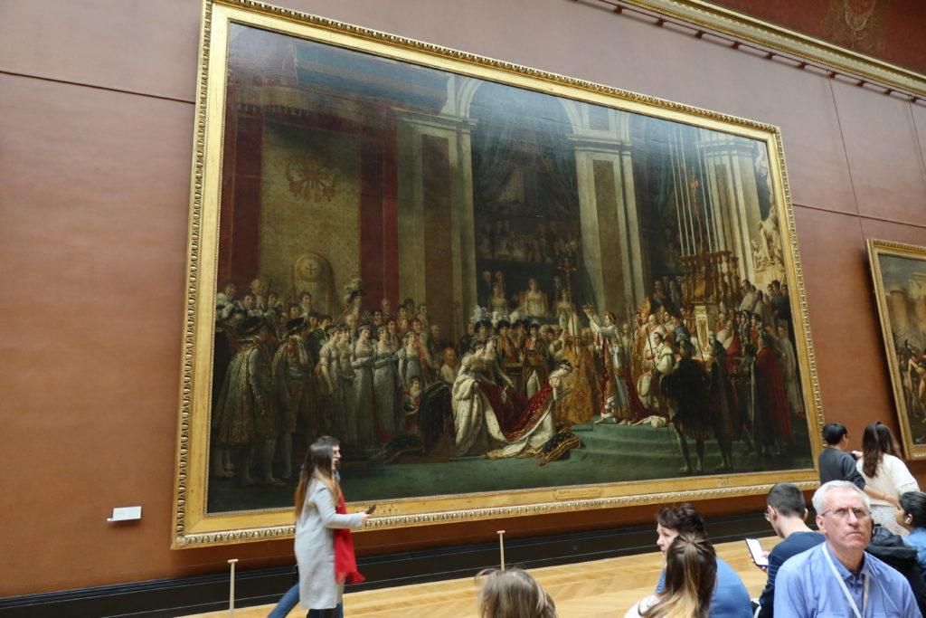 皇帝ナポレオン1世と皇后ジョゼフィーヌの戴冠式