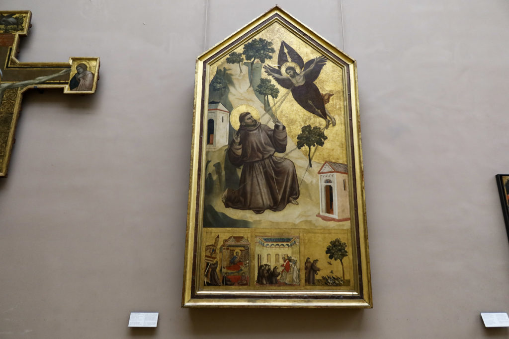 ルーブル美術館 聖痕を受ける聖フランチェスコ