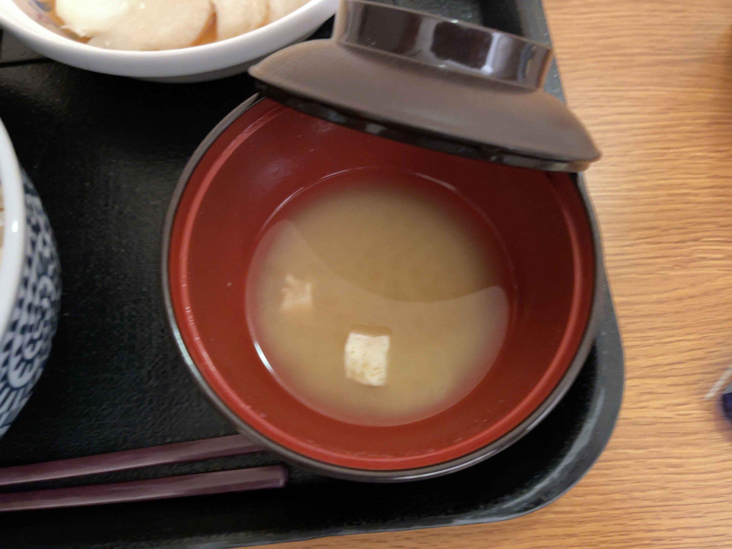 2021年2月19日夕食 味噌汁