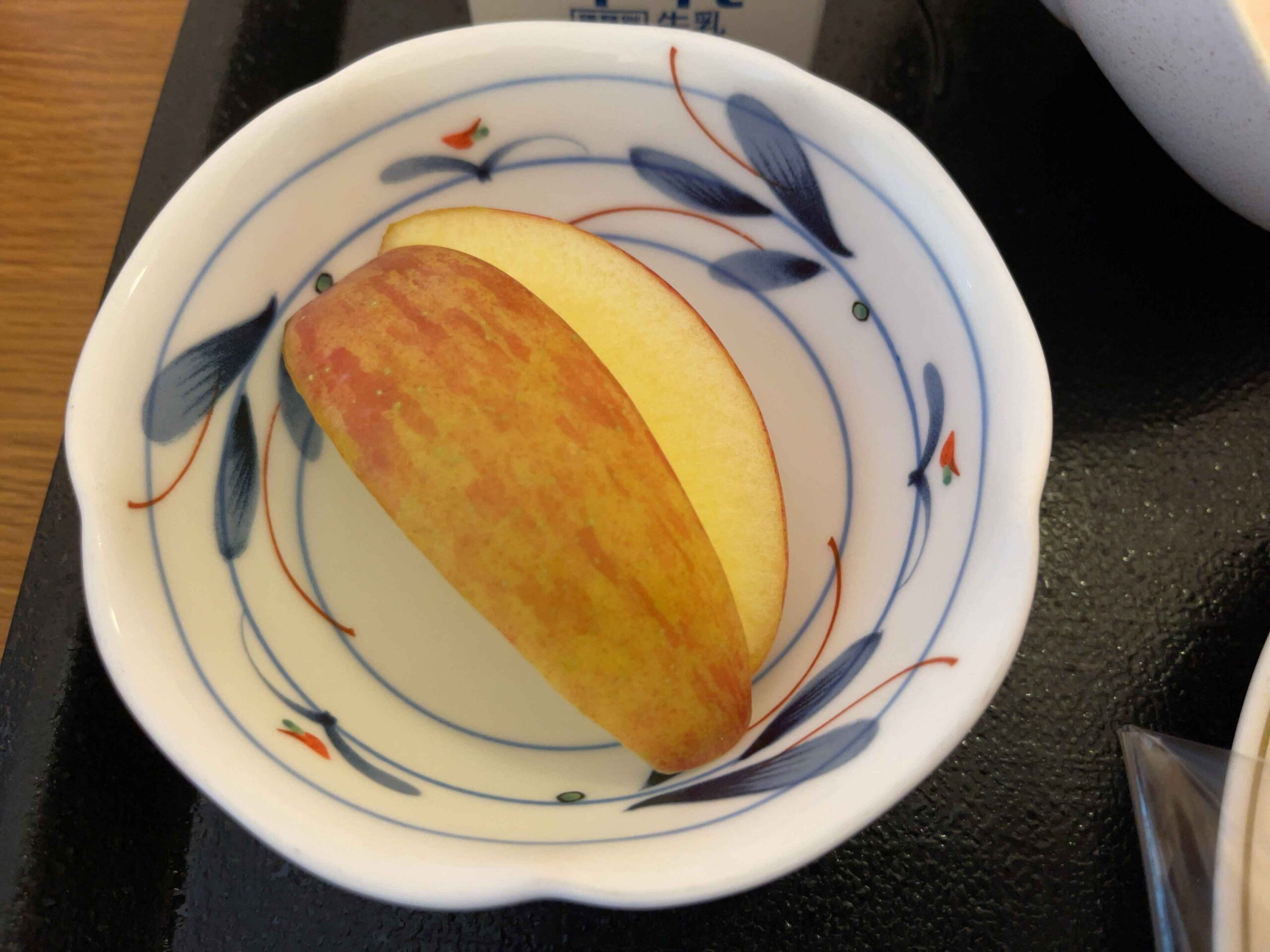 2021年2月20日朝食 りんご