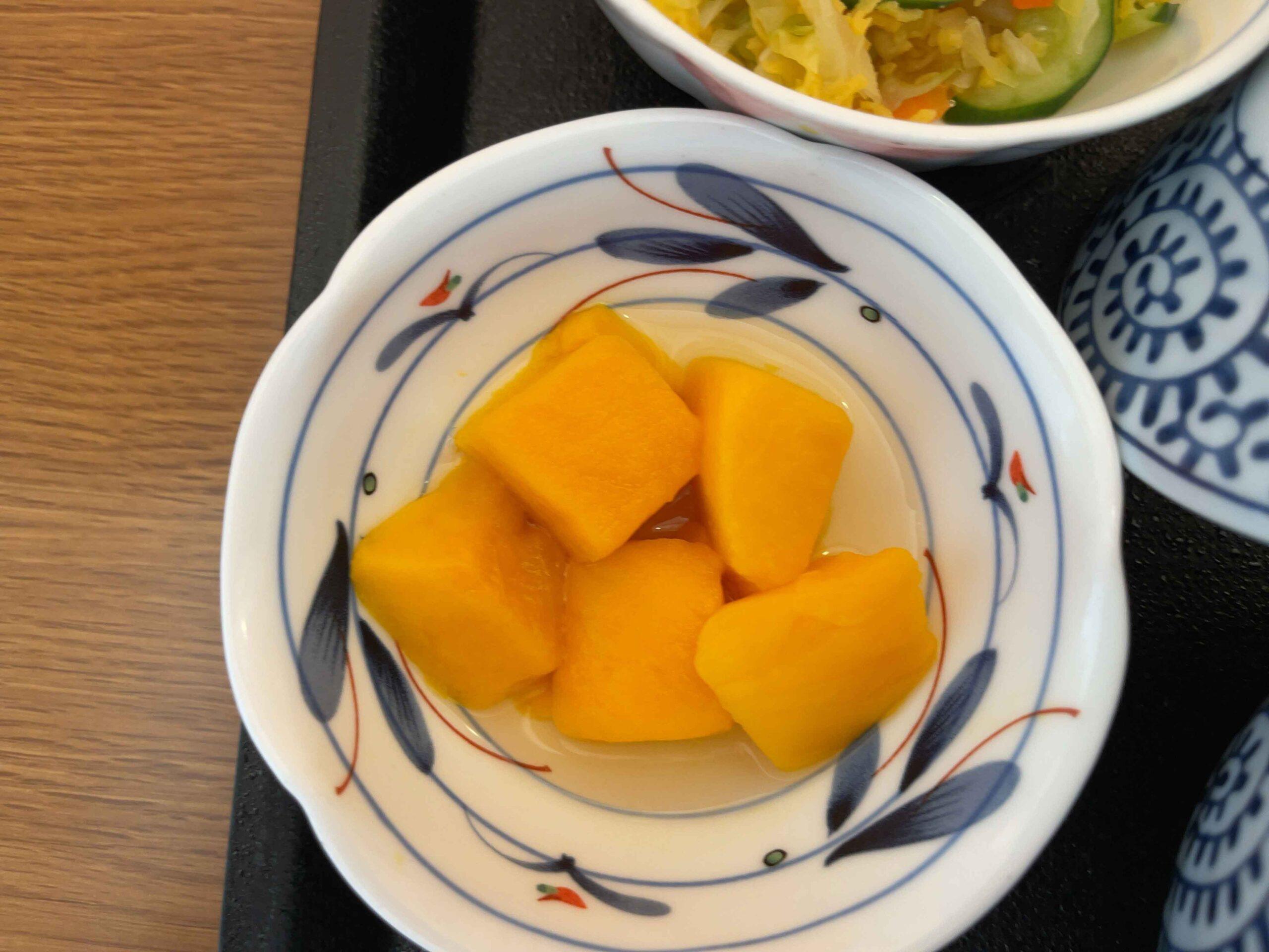 2021年2月21日昼食 マンゴー