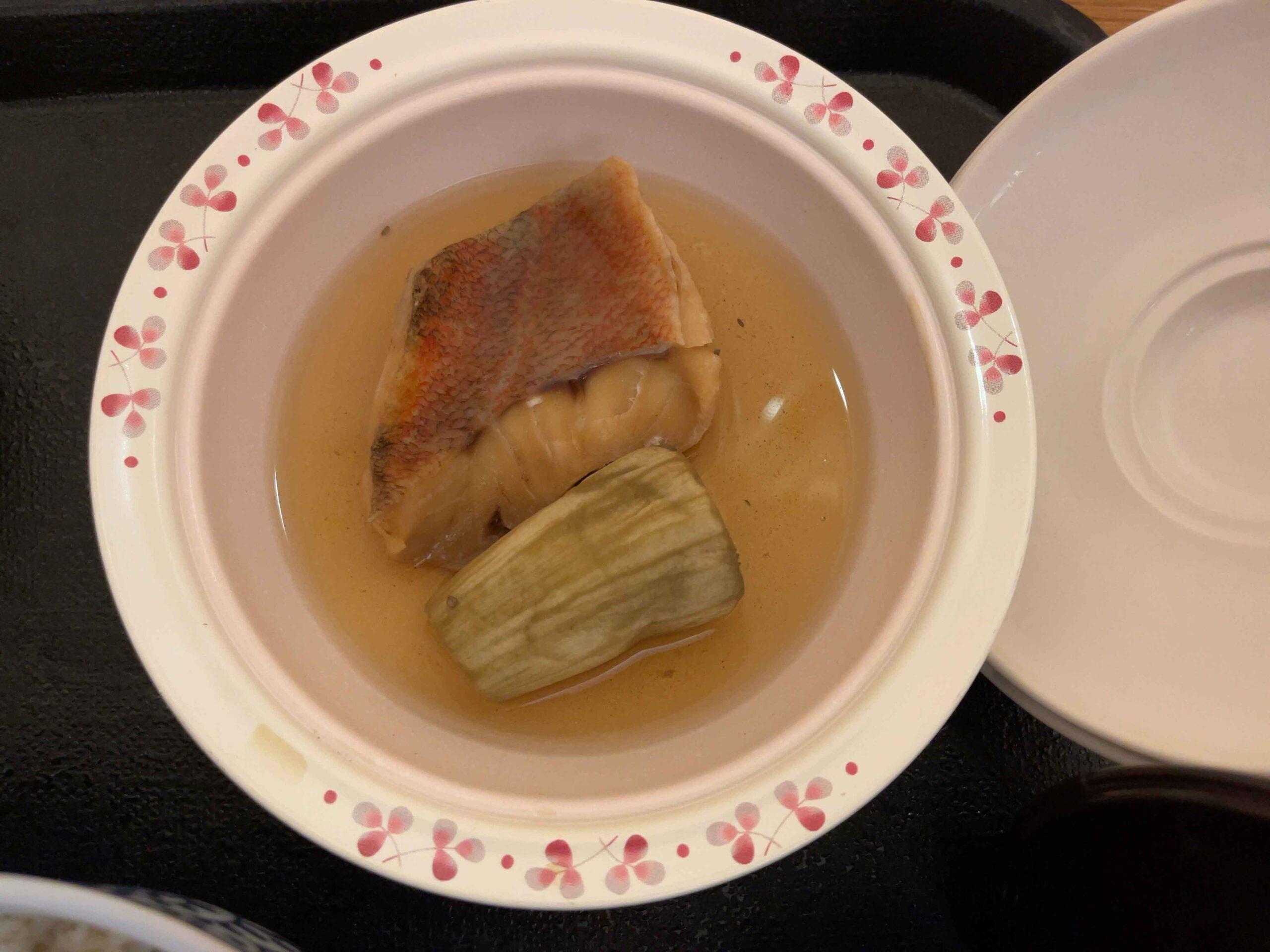 2021年2月21日夕食 煮魚