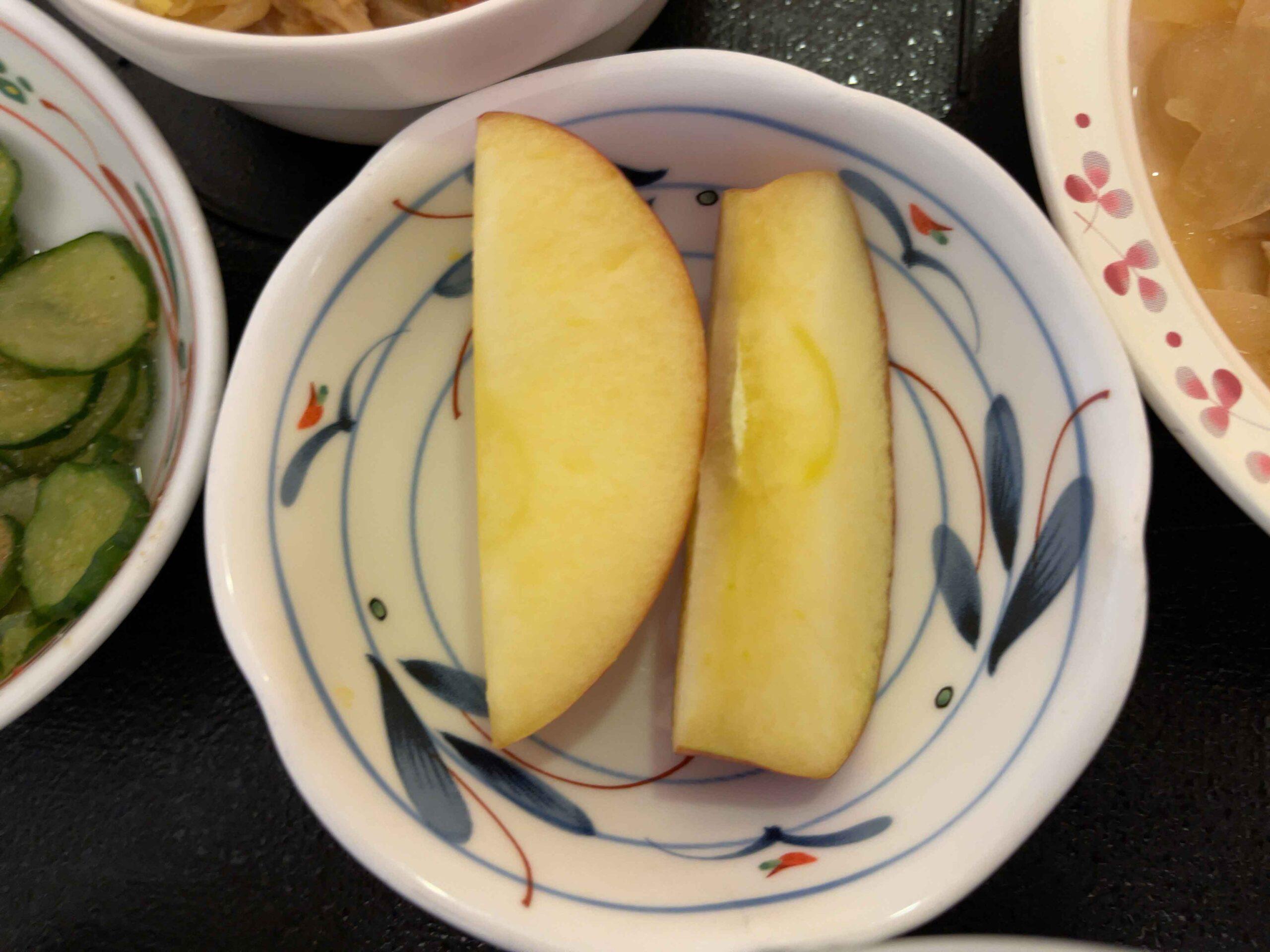 2021年3月2日昼食 りんご