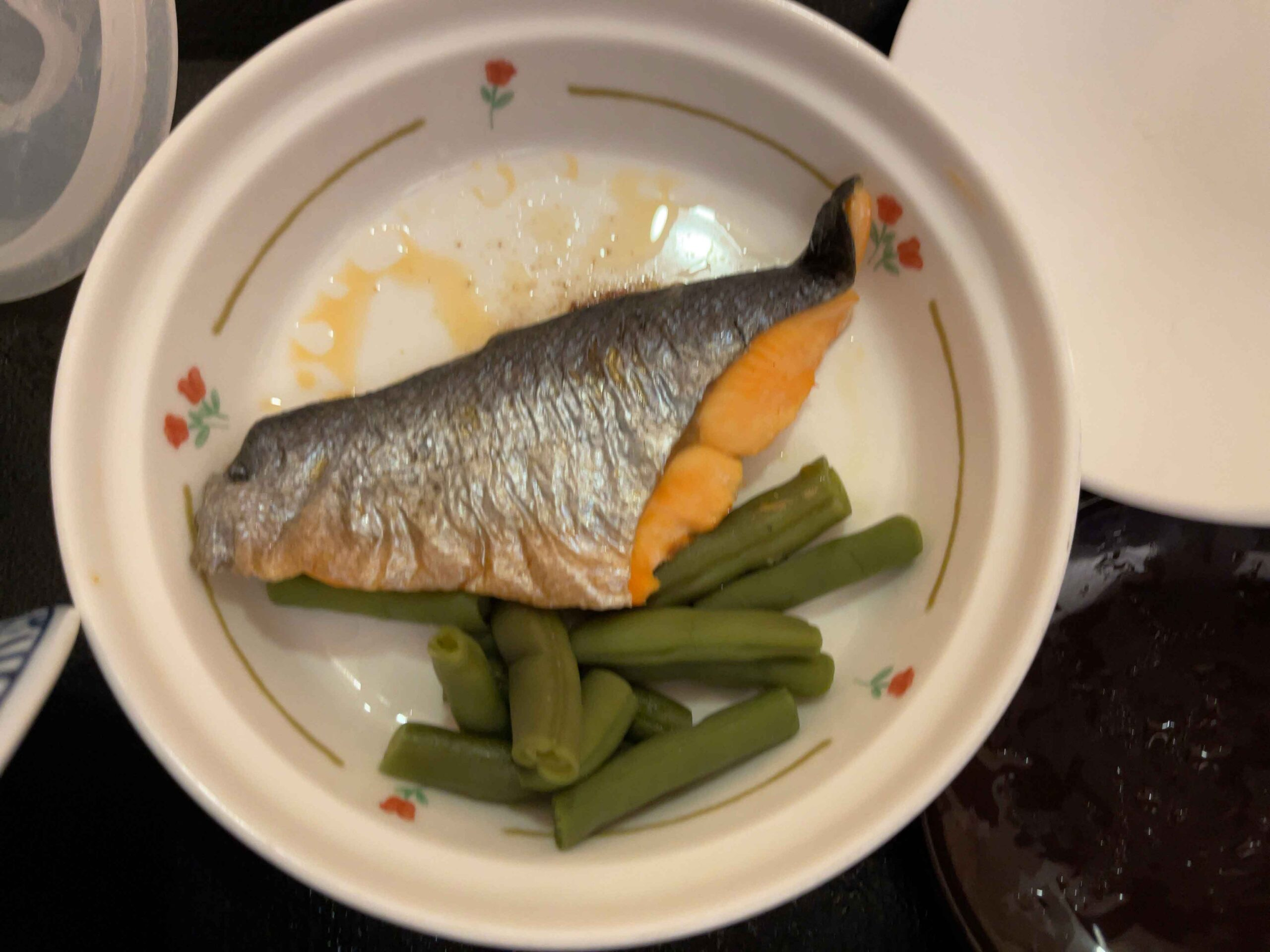 2021年3月2日夕食 鮭の塩焼き