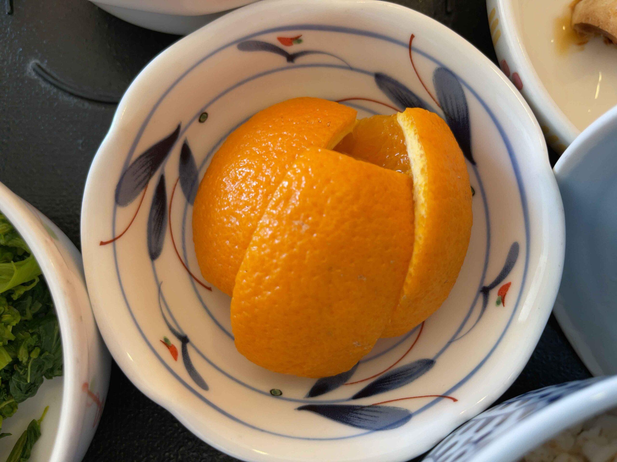 2021年3月3日 昼食 オレンジ