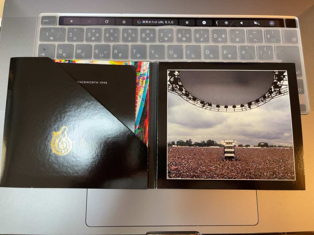 Pink Floyd Live At Knebworth 1990 Book01