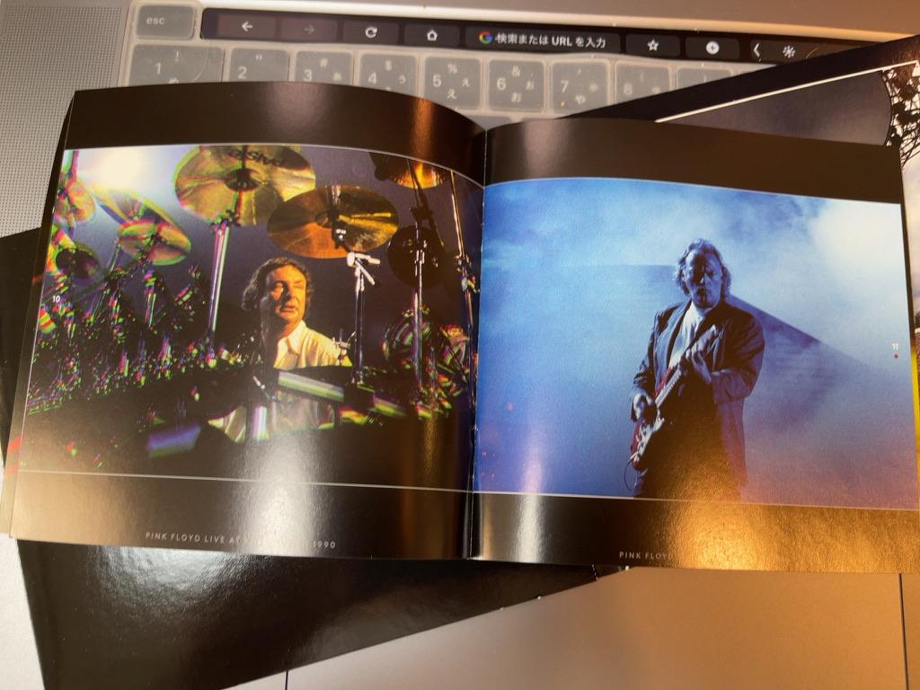 Pink Floyd Live At Knebworth 1990 Book02