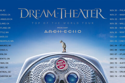 Dream Theater Top of the World tour